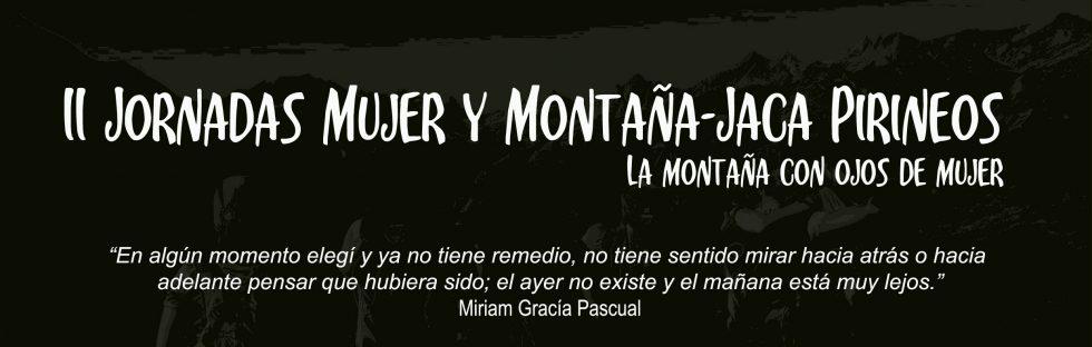 """Jornadas """"Mujer y Montaña"""" 2018"""