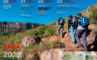 Montañeras Adebán colabora con el BANFF Mountain Festival en Jaca