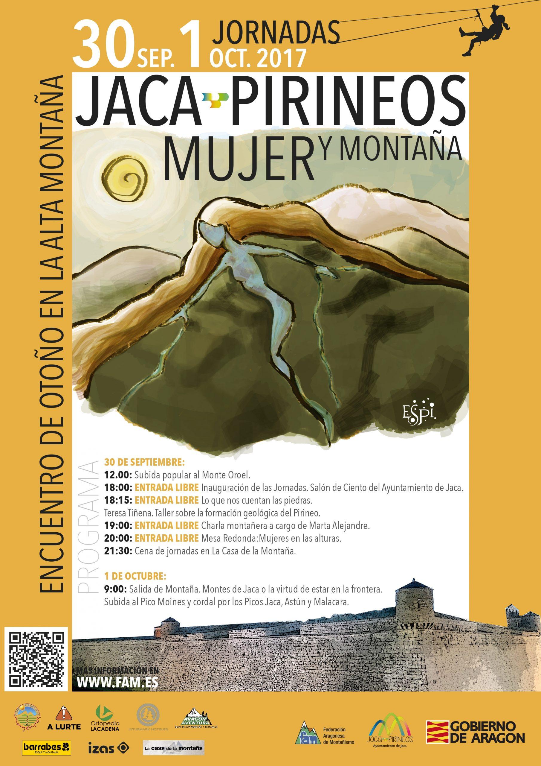 """Jaca Pirineos """"Mujer y Montaña"""" 2017"""