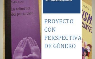 PROYECTO FORMATIVO EN FEMINISMO PARA HOMBRES Y MUJERES