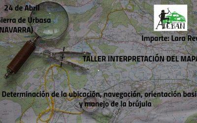 SIERRA DE URBASA, TALLER DE ORIENTACIÓN
