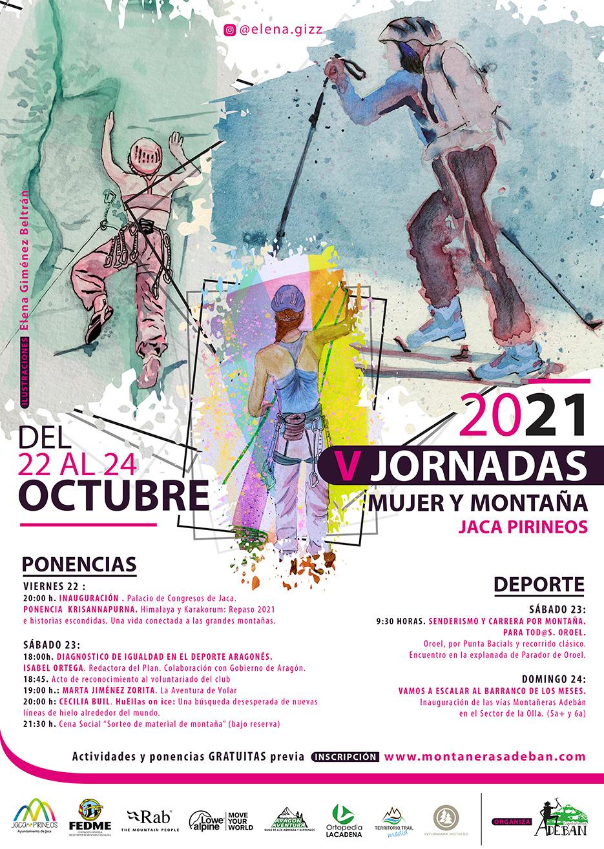 """Jornadas """"Mujer y Montaña"""" 2021"""